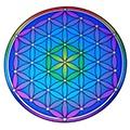 Illumination mandala stickers